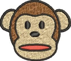 Monkey embroidery design