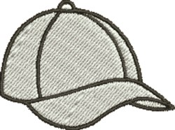 Baseball Cap embroidery design