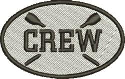 Crew embroidery design