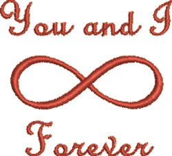 Infinity Forever embroidery design