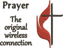 Prayer Connection embroidery design