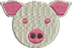 Piggy embroidery design