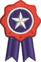 Patriotic Ribbon embroidery design