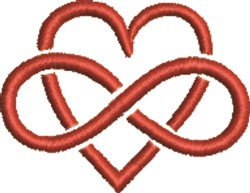 Infintate Love embroidery design