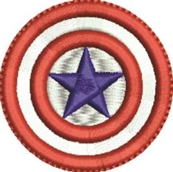 Patriotic Bullseye embroidery design