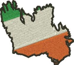 Ireland embroidery design