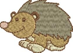 Happy Hedgehog embroidery design