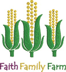 Faith Family Farm embroidery design