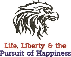 Pursuit Of Happiness embroidery design