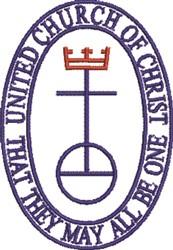 UCC Symbol   embroidery design