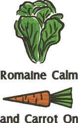 Romaine Calm embroidery design