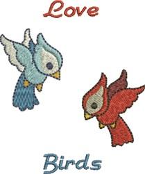 Love Birds embroidery design