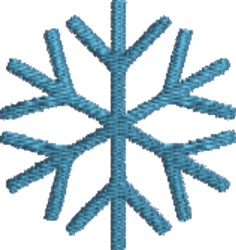 Big Snowflake embroidery design