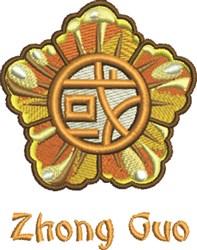 Zhong Guo Flower embroidery design