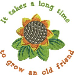 Old Friend embroidery design