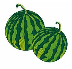 Watermelon embroidery design