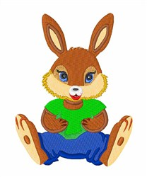 Sitting Rabbit embroidery design