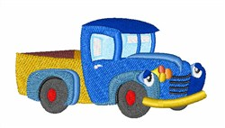 Toy Truck embroidery design