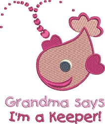 Grandma Keeper embroidery design