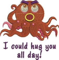 Hug You embroidery design