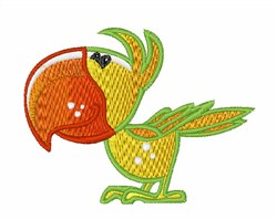 Baby Parrot embroidery design
