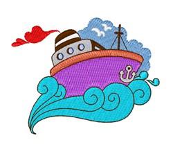 Ocean Cruiser embroidery design