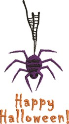 Spider Halloween embroidery design