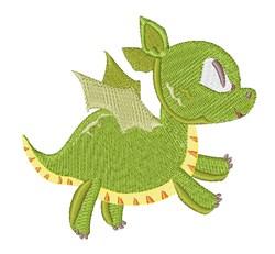 Green Dragon embroidery design