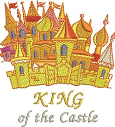 King Of Castle embroidery design