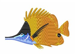 Golden Fish embroidery design