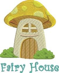 Fairy House embroidery design