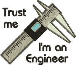 Im An Engineer embroidery design