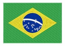 Brazilian Flag embroidery design
