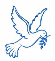 Spirit Dove embroidery design