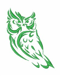 Owl Night embroidery design