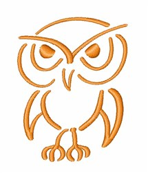 Night Bird embroidery design
