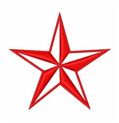 Patriotic Star embroidery design