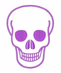 Halloween Skull embroidery design
