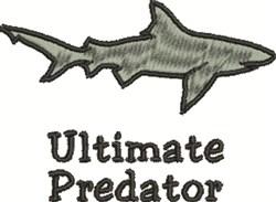 Ultimate Predator embroidery design