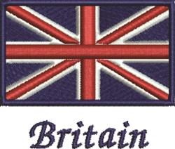 Britian Flag embroidery design