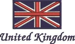 United Kingdom embroidery design