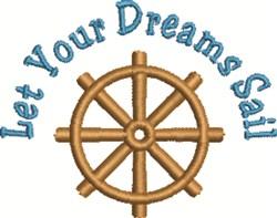 Dreams Sail embroidery design