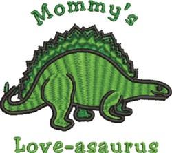 Dinosaur Love embroidery design