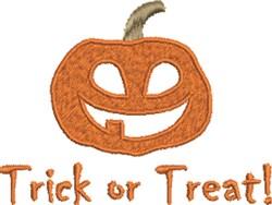 Pumpkin Treat embroidery design