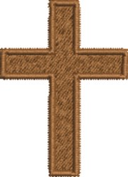 Christian Crucifix embroidery design