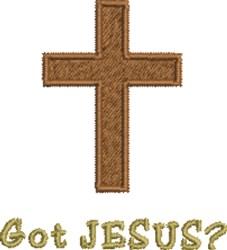 Got Jesus embroidery design