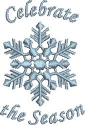 Snowflake Celebrate the Season embroidery design