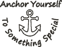 Something Special Anchor embroidery design