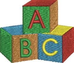Baby Blocks embroidery design