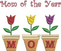 Mom Year embroidery design
